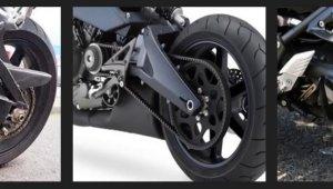 Discutir a relação: tipos de transmissões de motos