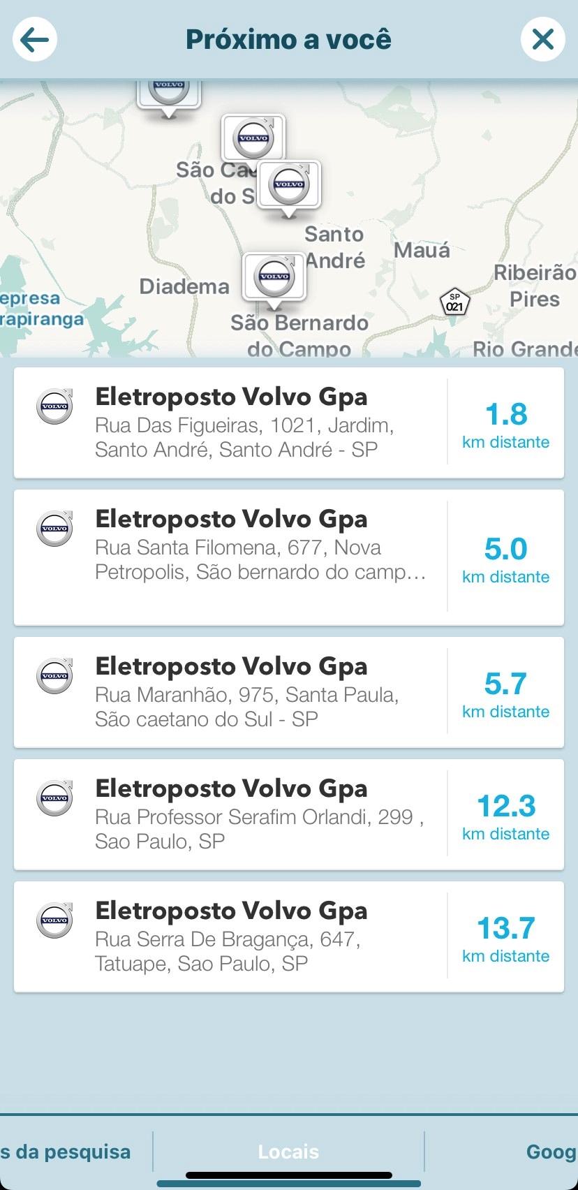 Eletroposto Da Volvo Em Sp
