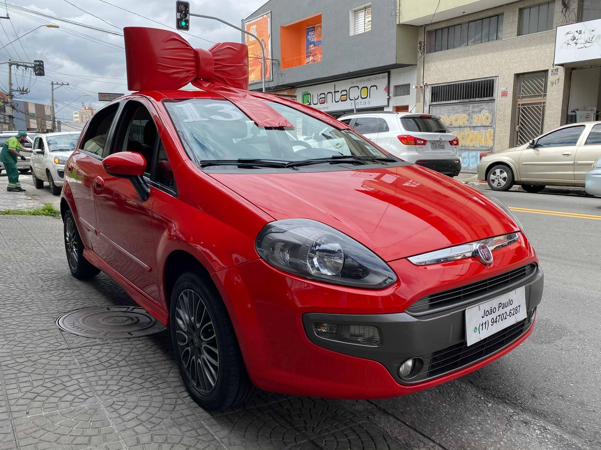 Fiat Punto 1.8 Sporting 16v Flex 4p Manual Wmimagem16442428970