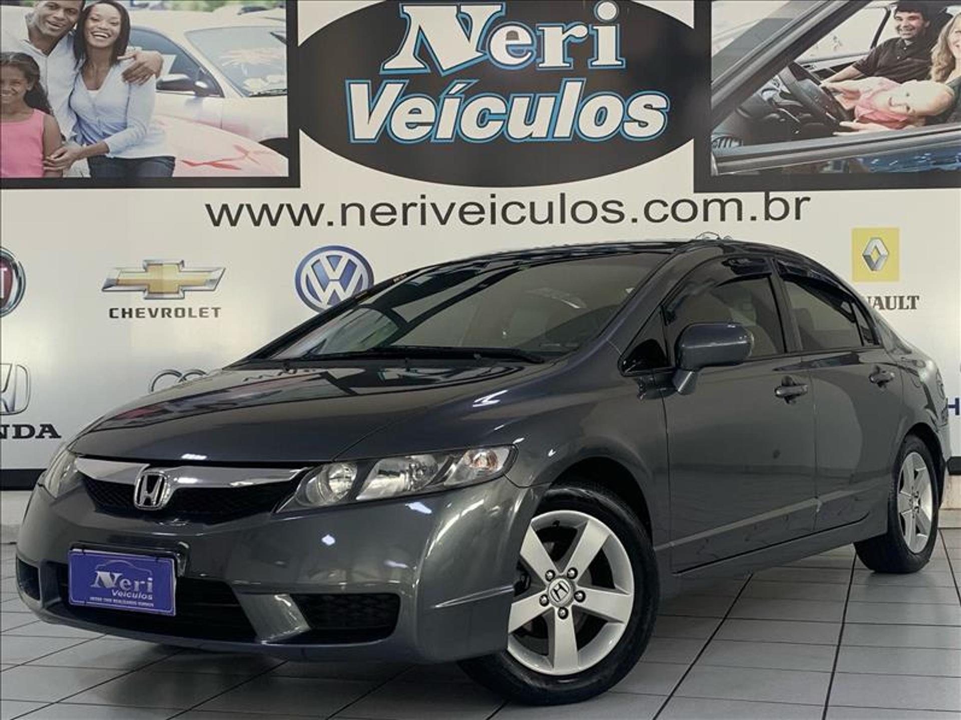 Honda Civic 1.8 Lxs 16v Flex 4p Manual Wmimagem16360338964