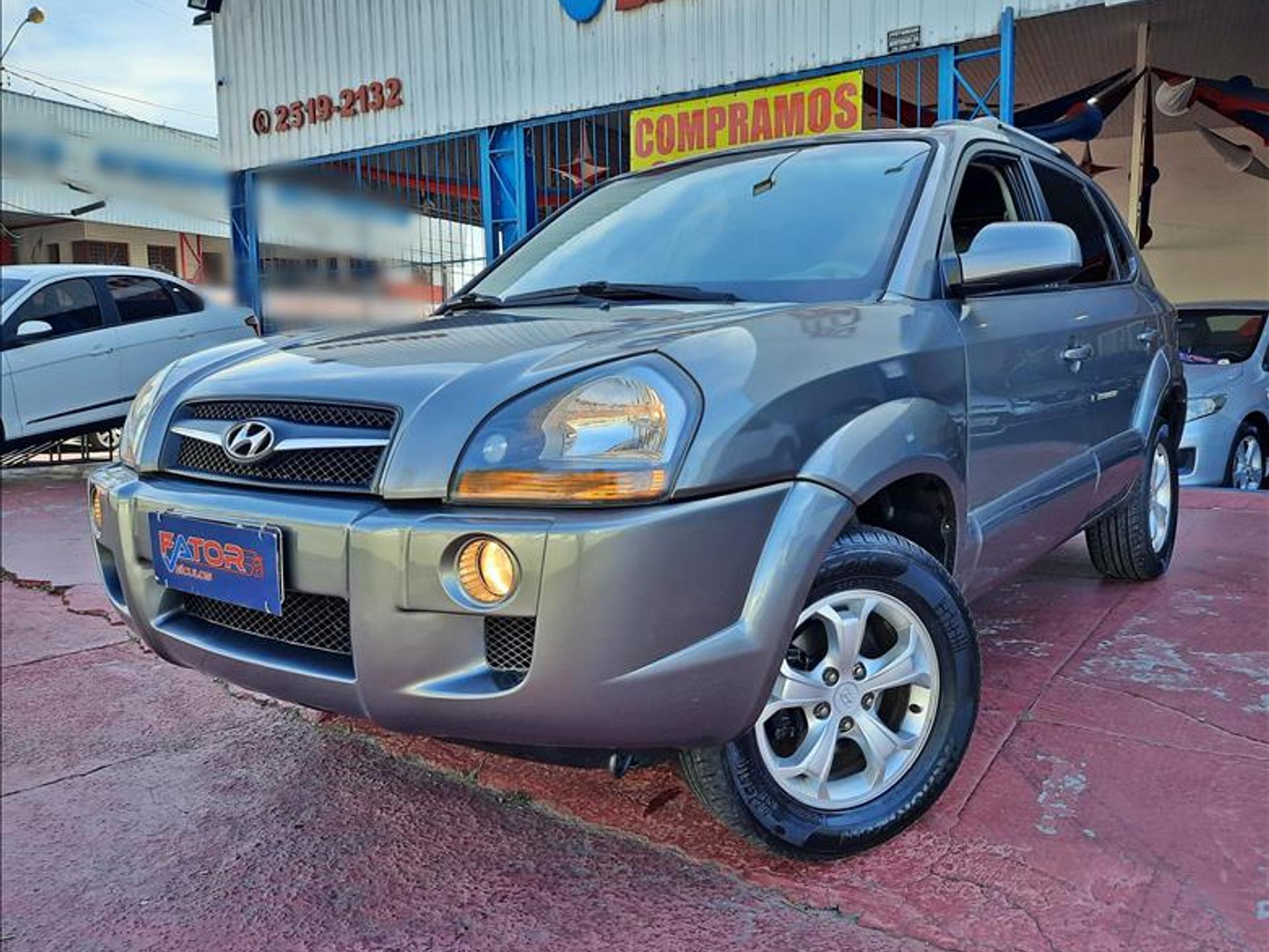 Hyundai Tucson 2.0 Mpfi Gls 16v 143cv 2wd Gasolina 4p Automatico Wmimagem16222791493