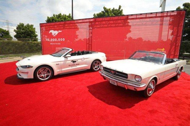Mustang já vendeu mais de 10 milhões de unidades em sua história de quase 60 anos