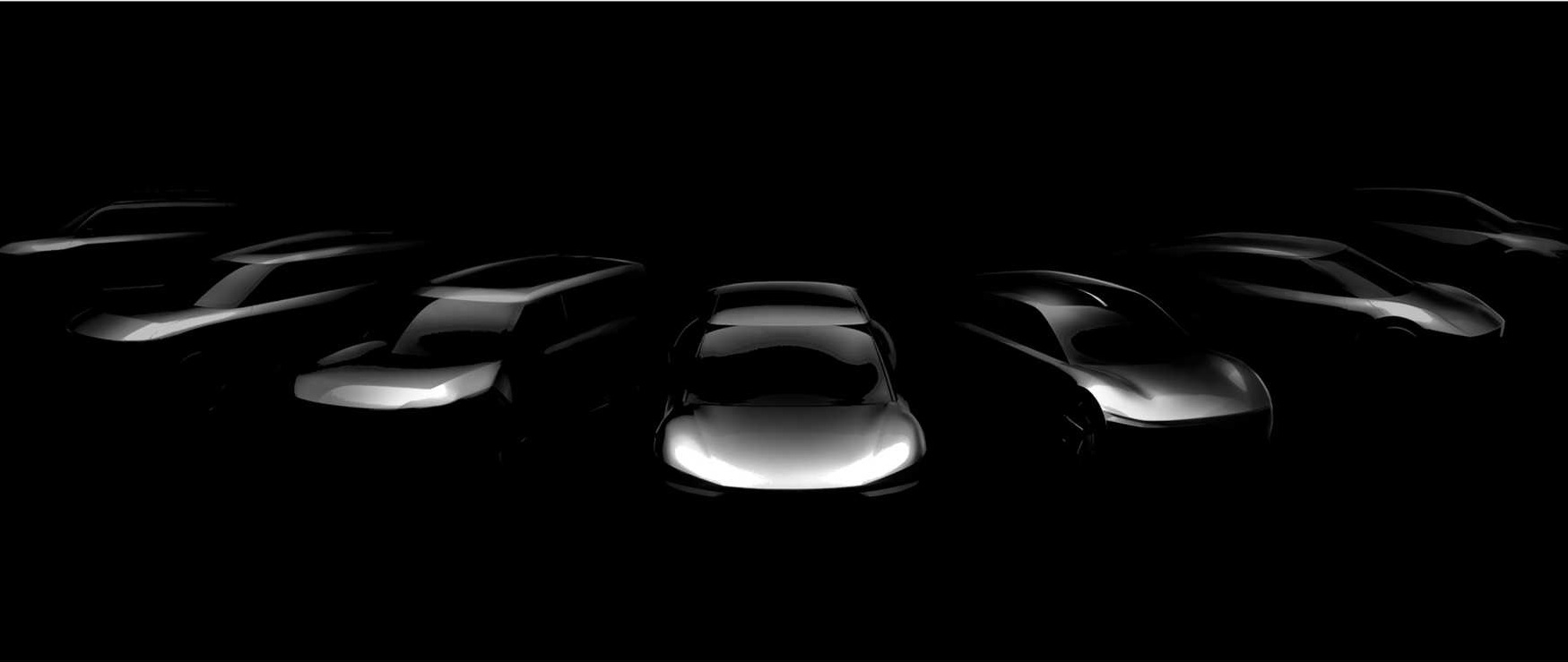 Kia tem planos ousados para nova linha de carros elétricos - pelos esboços, vemos hatches, SUVs, sedãs...