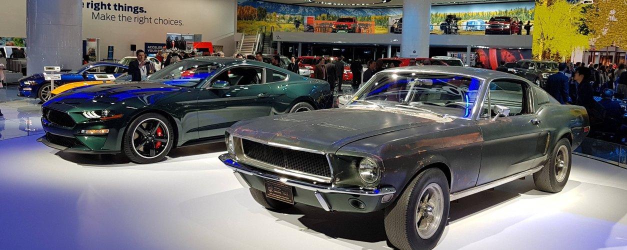 Mustang Bullitt Novo E O Clássico De 1968