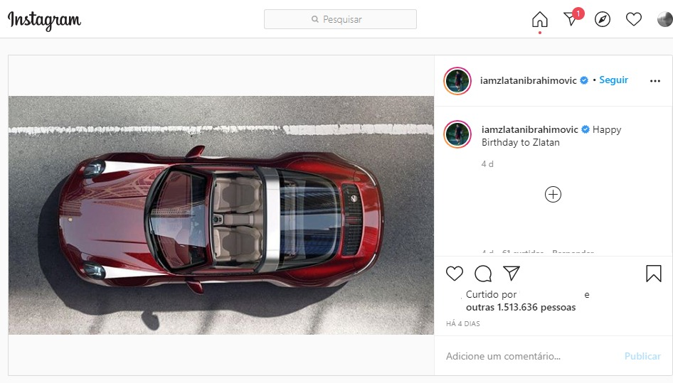Instagram Do Ibra
