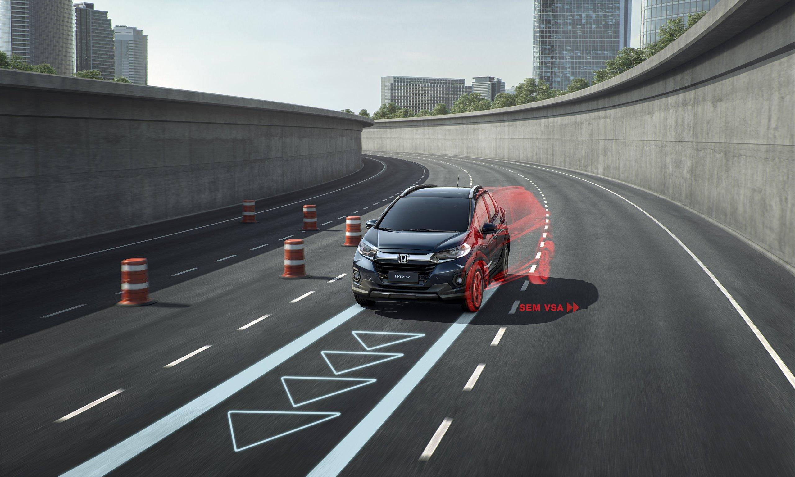 Controle De Estabilidde Do Honda Wr V 2021 Atende Pela Sigla Vsa