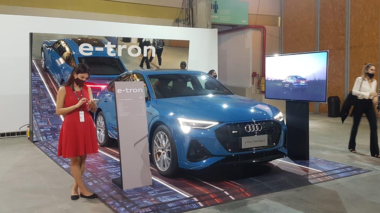 Audi E Tron Sportback Suv Elétrico No Evento Artrio (2)