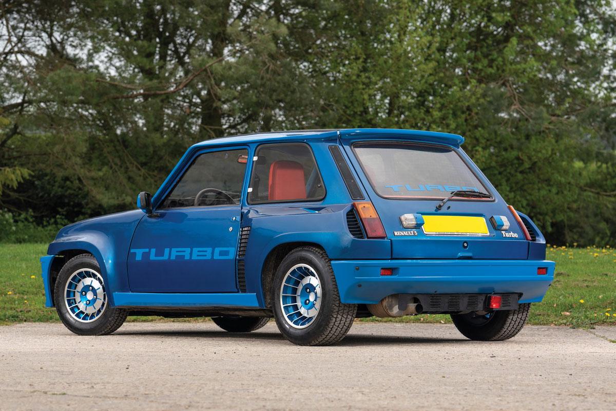 Carros de anime Renault 5 Turbo