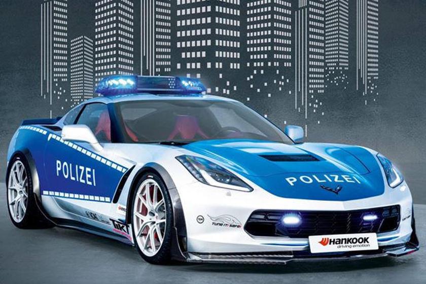 Corvette C7 Polícia Alemã