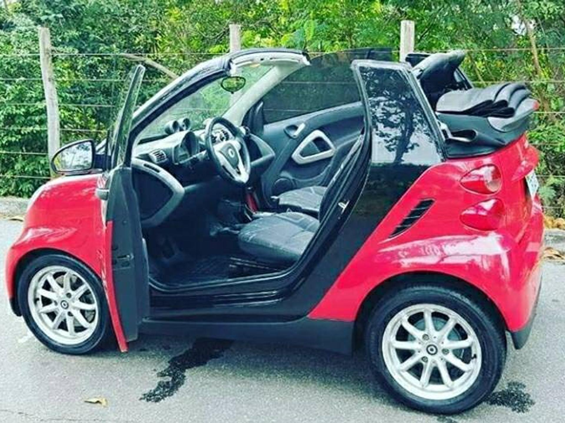 Smart Fortwo 1.0 Cabrio 3 Cilindros 12v Gasolina 2p Automatico Wmimagem23084510681
