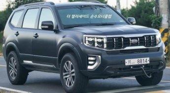 Kia Mohave pode virar SUV 4x4 com aptidão para o off-road