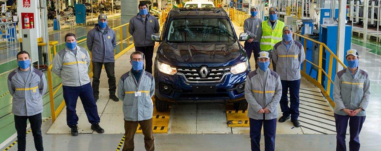 Renault Alaskan Producao Na Argentina