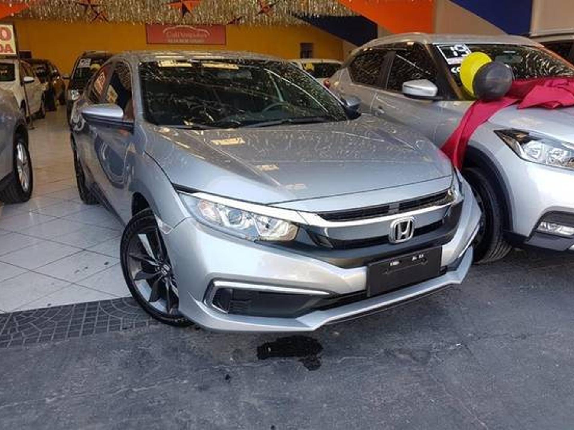 Honda Civic 2.0 16v Flexone Lx 4p Cvt Wmimagem14002162176