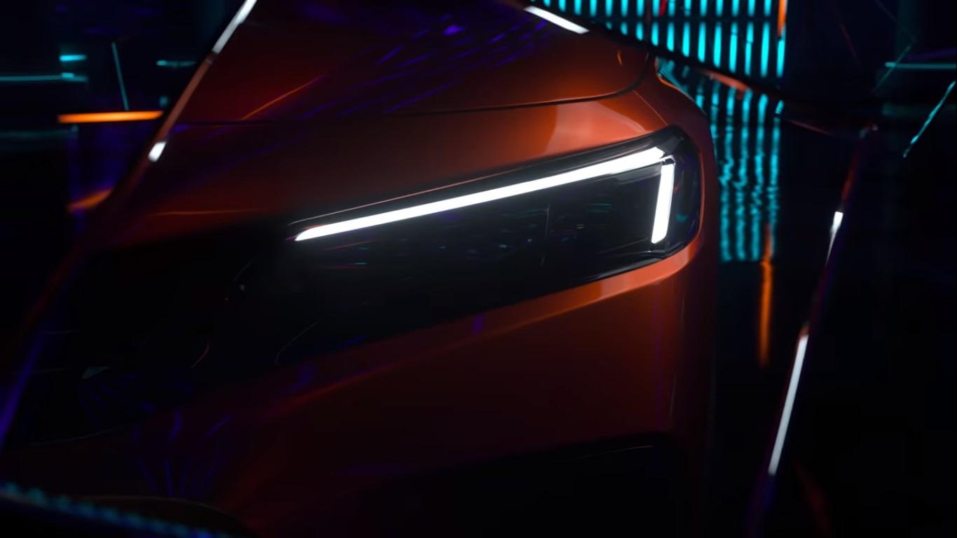 Novo Honda Civic Frame Do Vídeo Do Teaser (3)