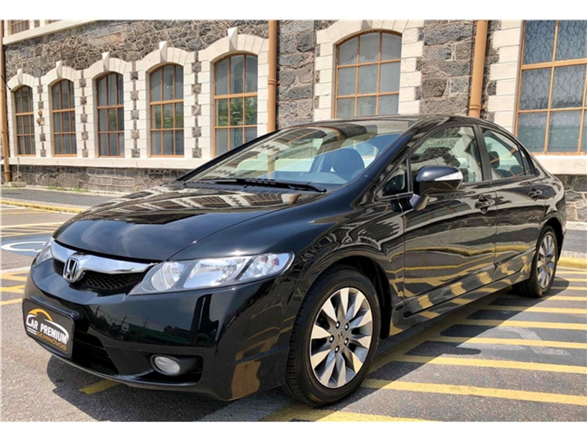 Honda Civic 1.8 Lxl 16v Flex 4p Automatico Wmimagem10551208571