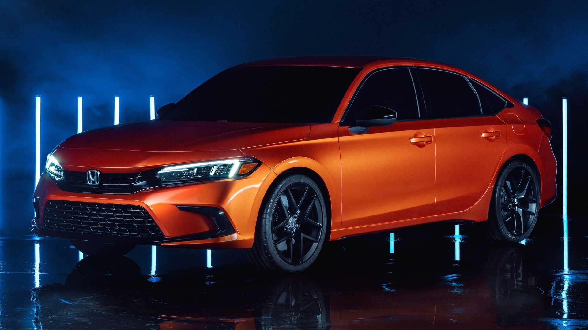 Novo Honda Civic 2022 (1)