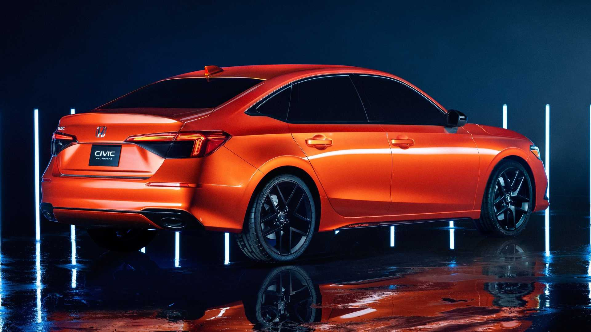 Novo Honda Civic 2022 (2)