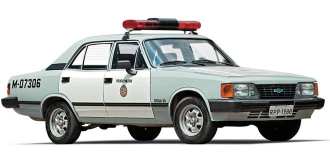 Chevrolet Opala viatura PMESP