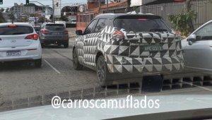 Flagra Do Novo Nissan Kicks Reestilizado Carros Camuflados (1)