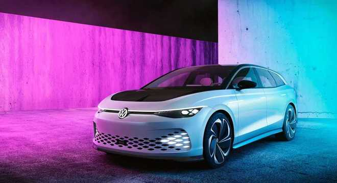 Volkswagen Space Vizzion perua elétrica