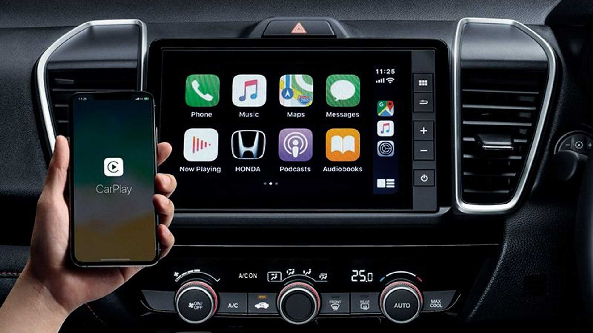 Honda City Hatch Carplay Sem Fio