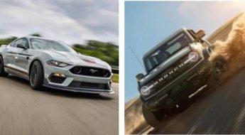 Mustang Mach 1 e Bronco