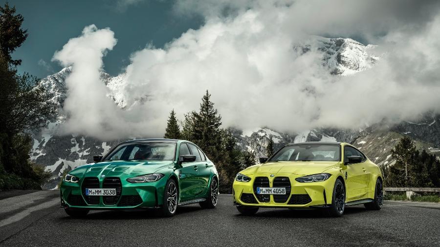 Bmw M3 E M4 2021 carros lançados 2021