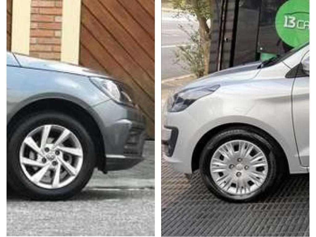 Volkswagen Gol x Ford Ka