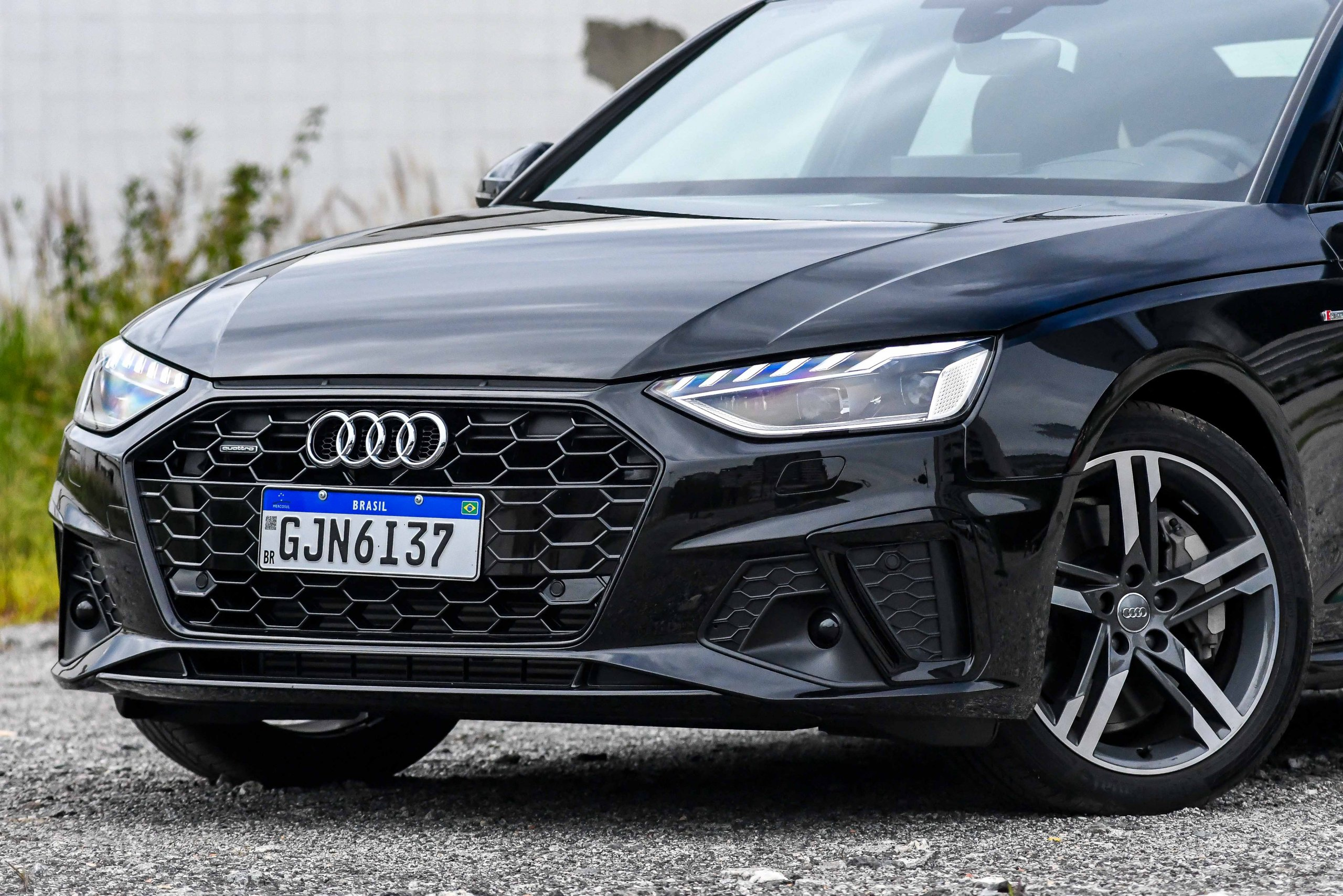 Audi A4 Performance Black 2021 Fechado Na Frente