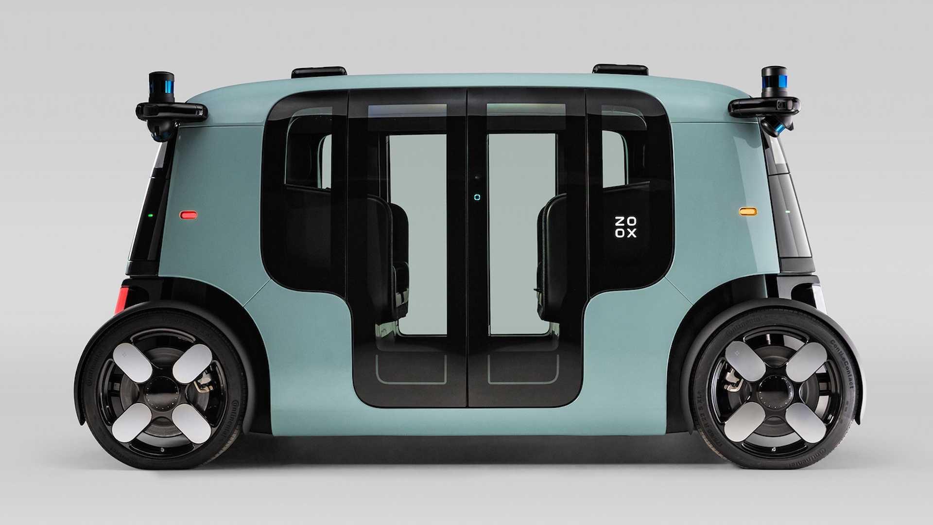 Zoox Functional Autonomous Electric Taxi