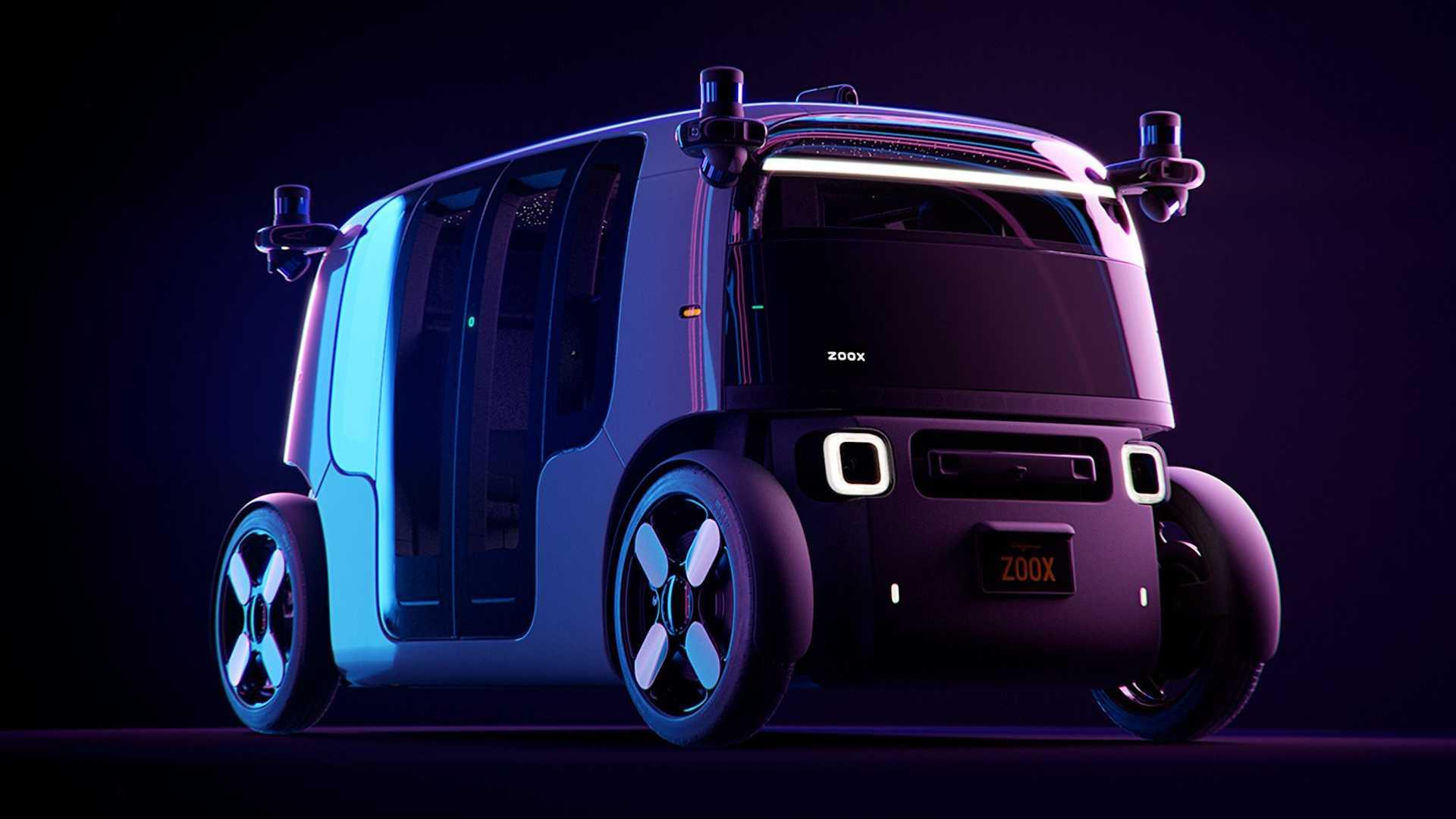 Zoox Functional Autonomous Electric Taxi (1)