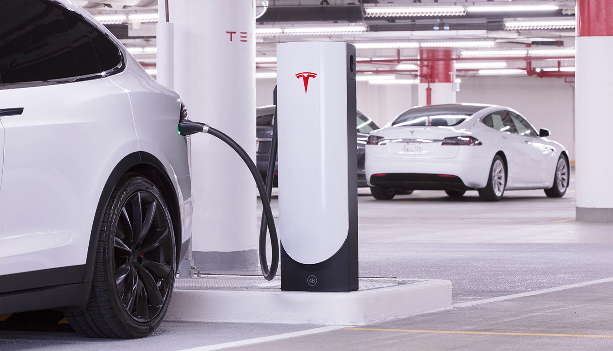 Teslasupercharger conectores carro elétrico