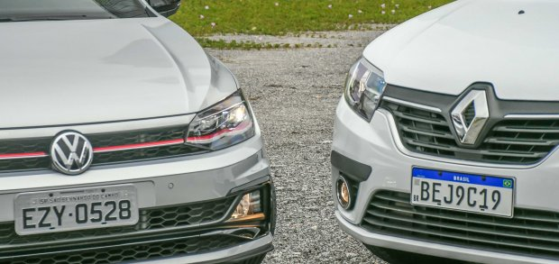 Polo GTS e Sandero GT Line