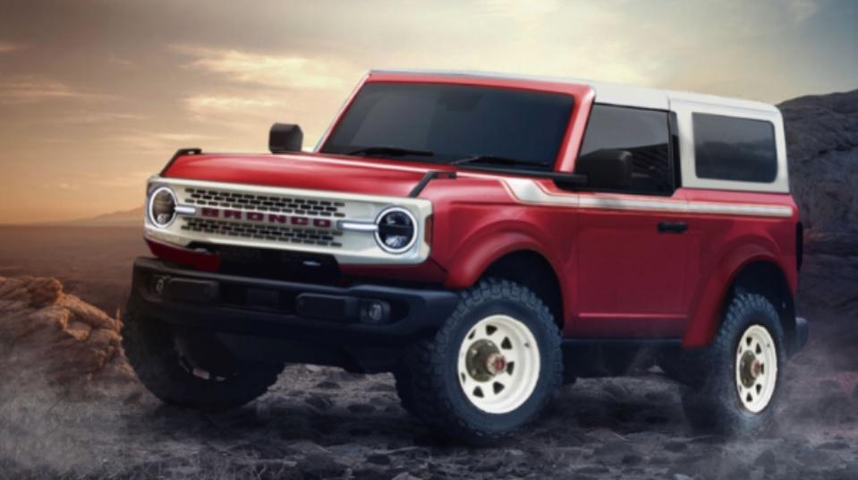 Ford Bronco Heritage Edition 2022 02 Reprodução Autologia