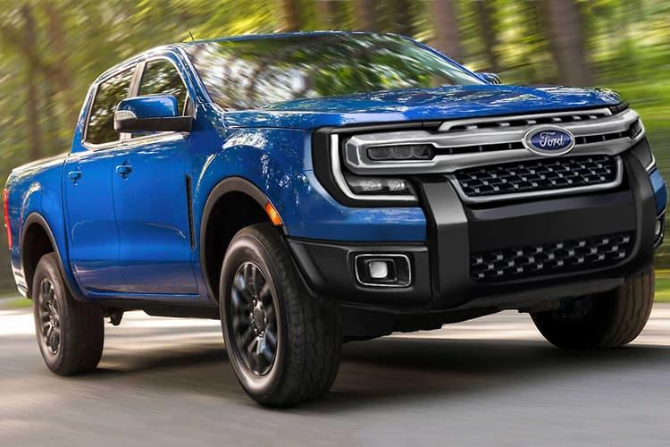 Nova Ford Ranger, projetada pelo Motoring.com.au