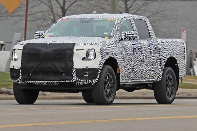Nova Ford Ranger foi flagrada, ainda camuflada, nos Estados Unidos