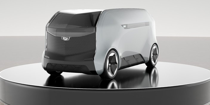 Cadillac autônomo da CES 2021