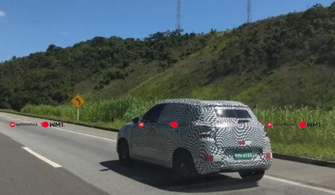 Flagrante Novo Citroën C3 Marca D'agua
