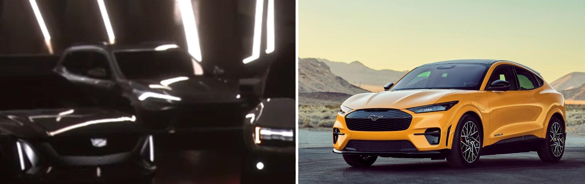 SUV elétrico do Corvette x Ford Mustang Mach E