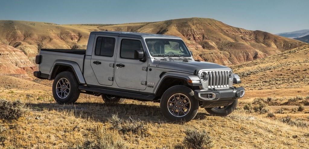 Thumbnail Jeep Gladiator - picapes que chegam em 2021