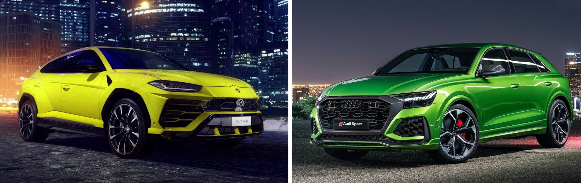 Lamborghini Urus vs Audi RS Q8