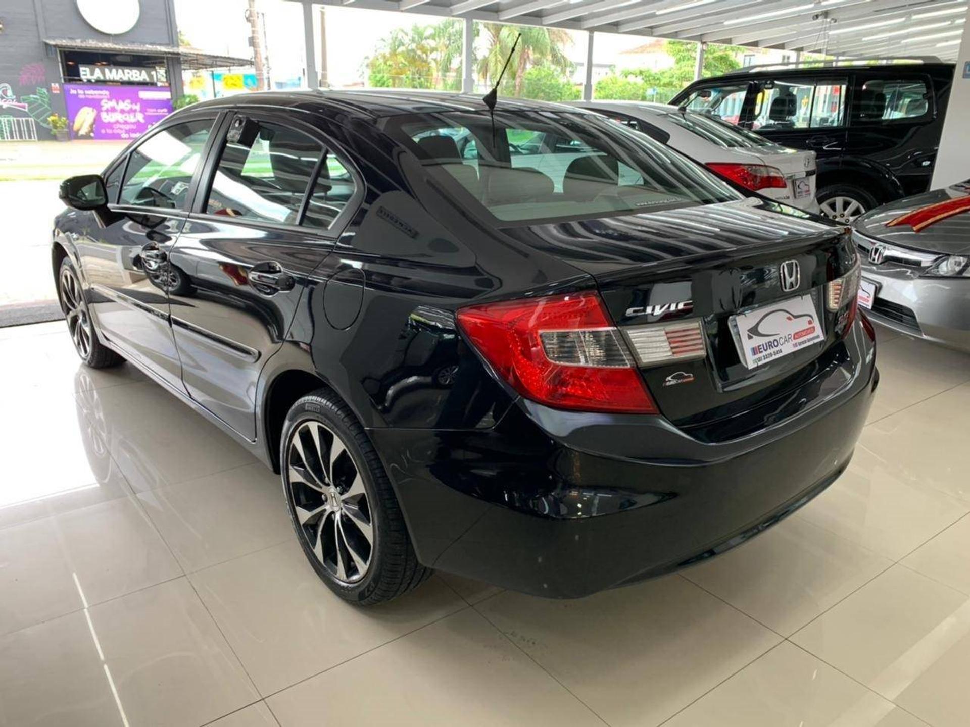 Honda Civic 2.0 Lxr 16v Flex 4p Automatico Wmimagem11321588758