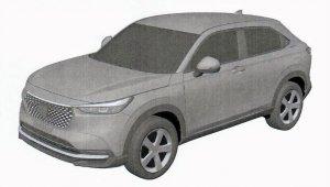 Thumbnail 2022 Honda Hr V Possible Patent Image (5)