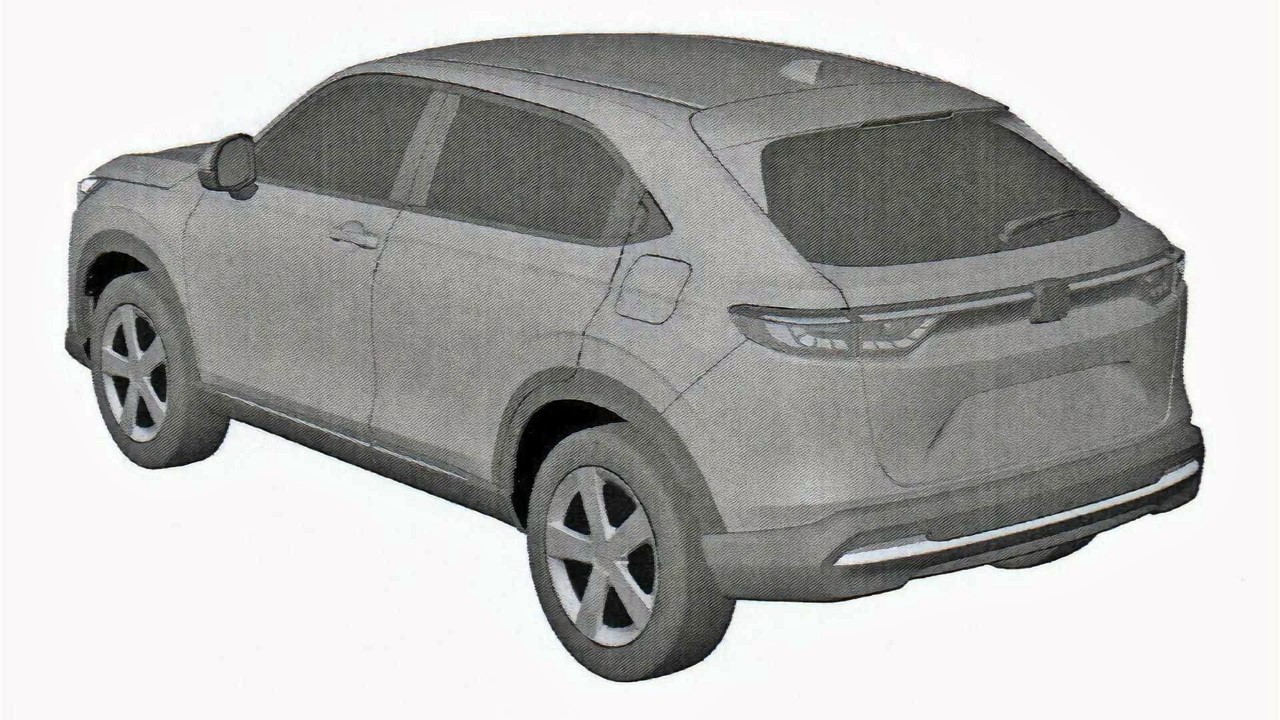 Thumbnail 2022 Honda Hr V Possible Patent Image (1)