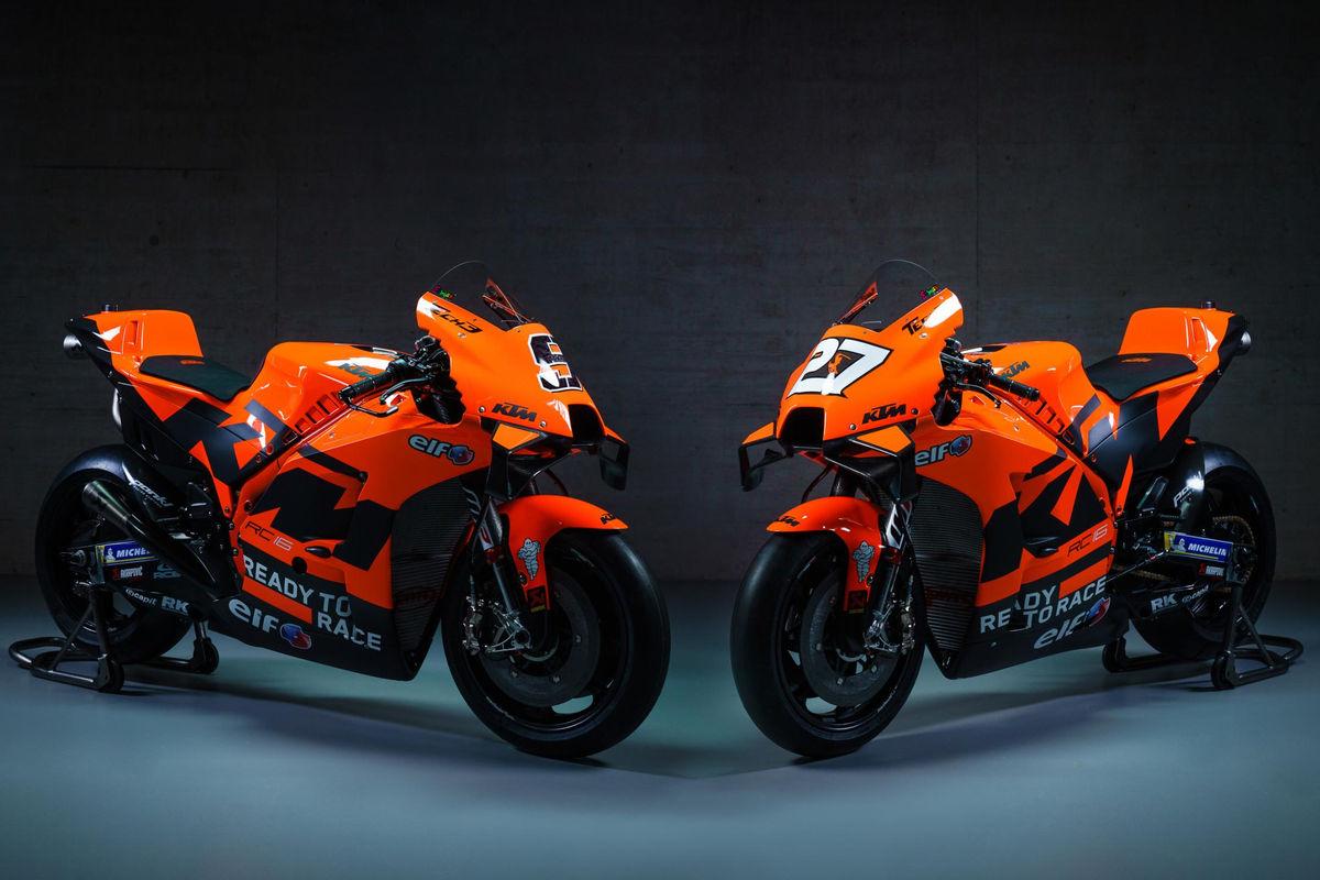 7. Motos Da Tech3 Ktm Factory Racing