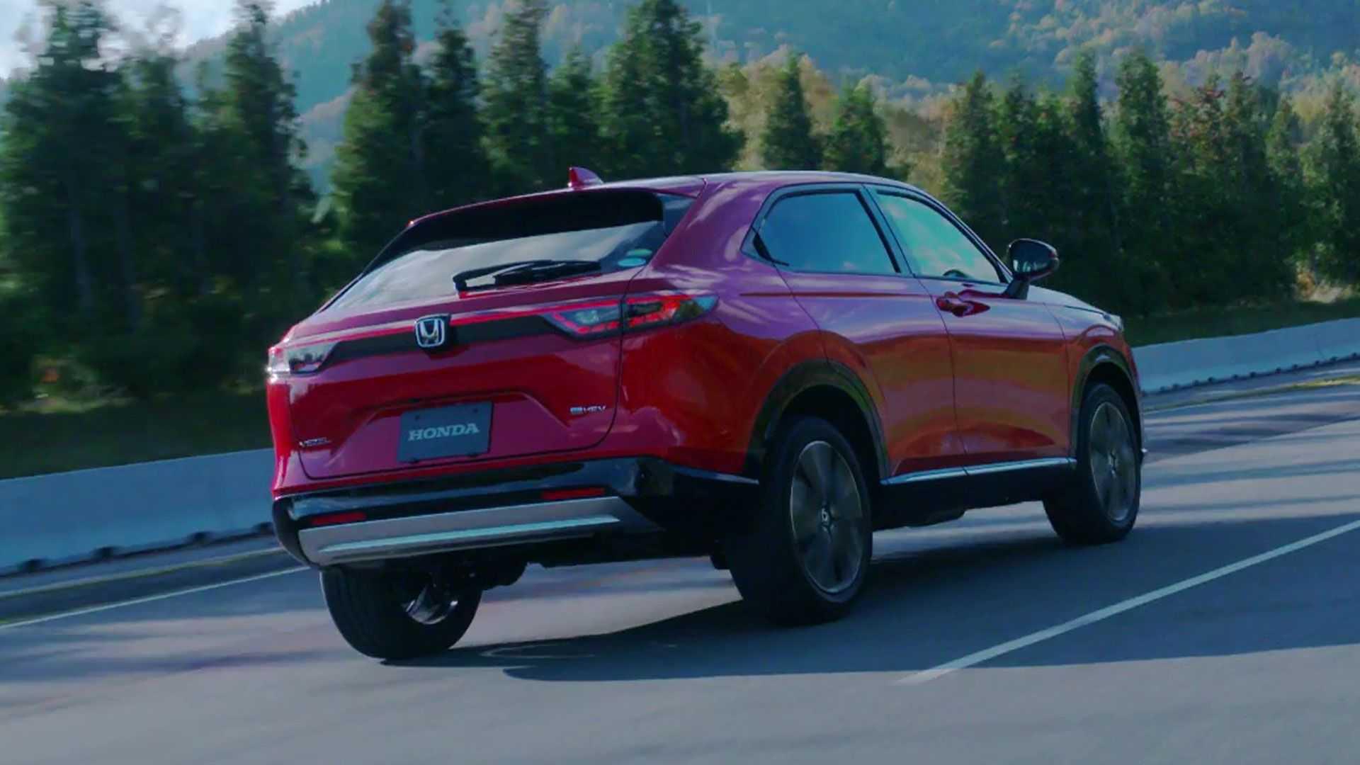 Novo Honda Hr V Traseira