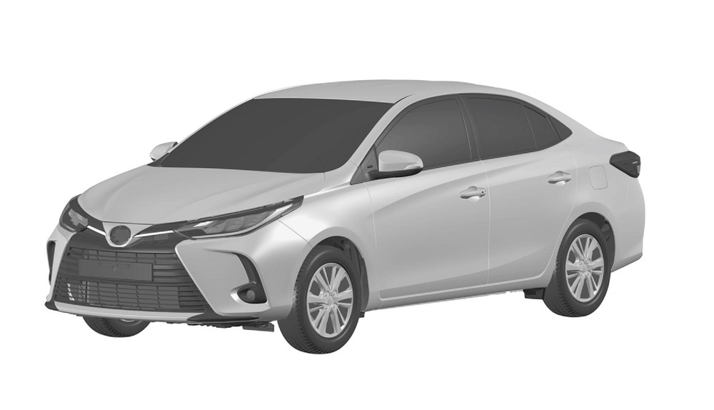 Toyota Novo Yaris Sedan Linha 2023 Registro Inpi