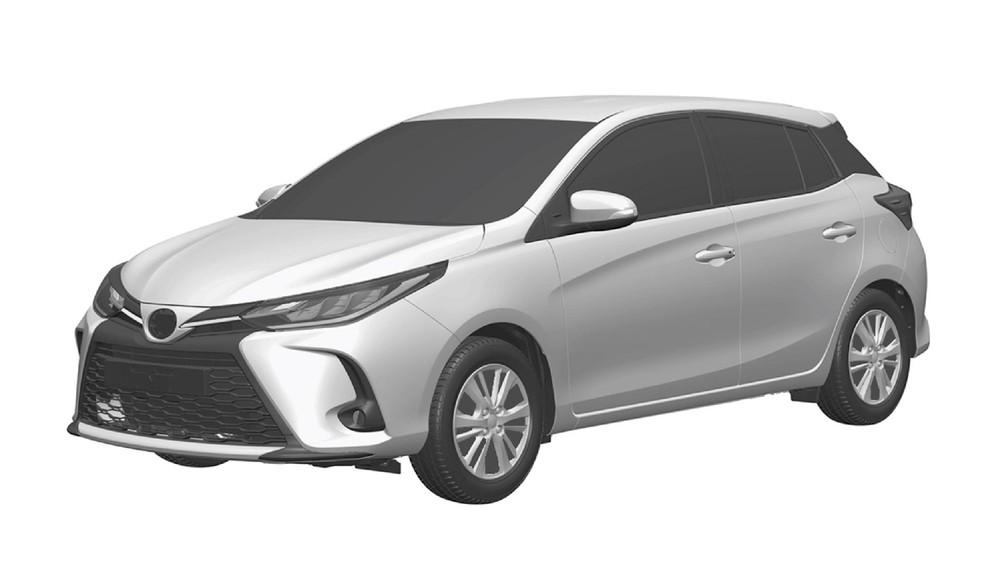 Toyota Novo Yaris Hatch Linha 2023 Registro Inpi