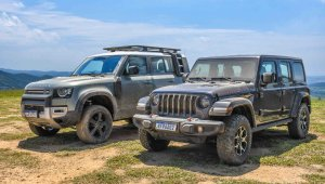 Land Rover Defender x Jeep Wrangler Rubicon