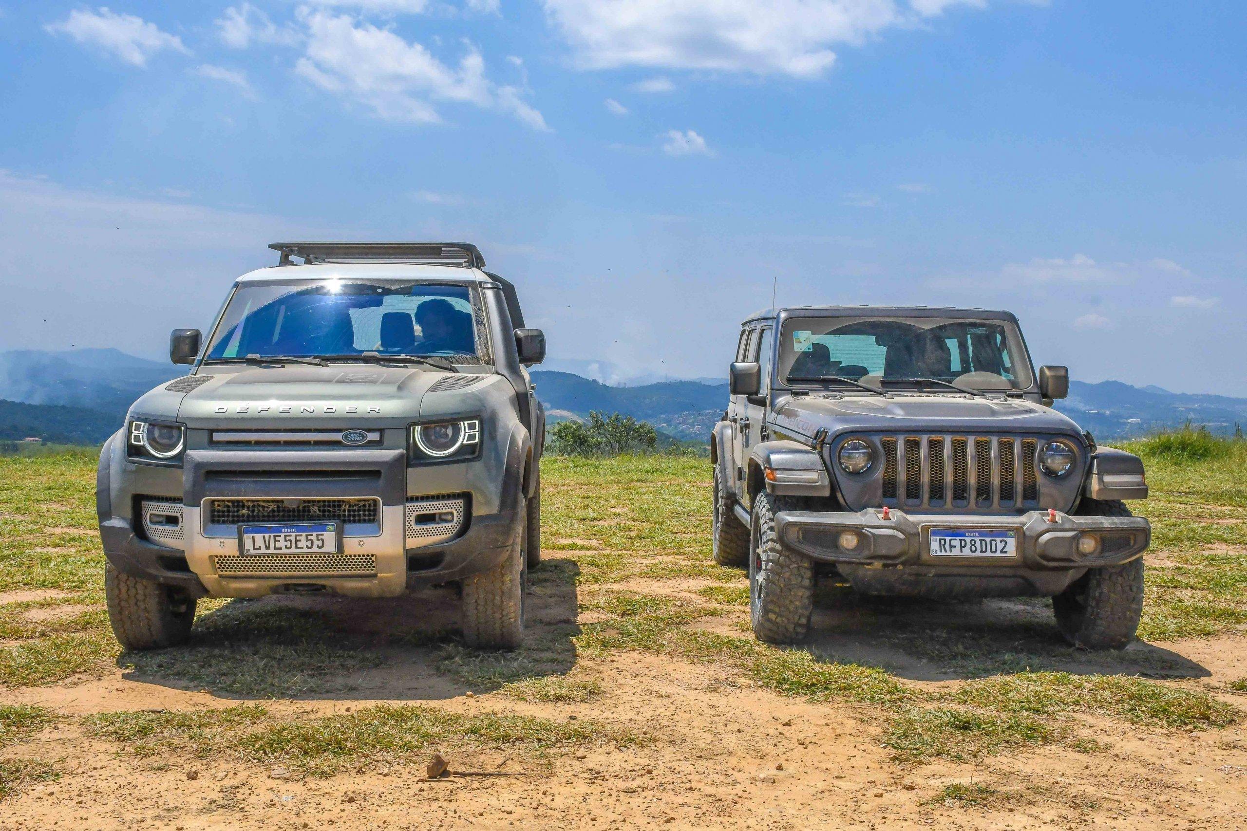 Land Rover Defender x Jeep Wrangler Rubicon